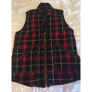 Jackets & Blazers - Flannel colored vest 💕